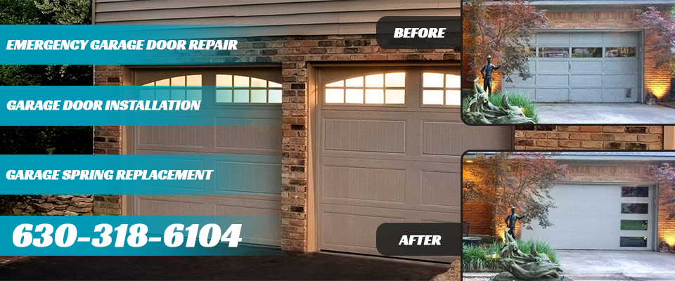Downers Grove IL Garage Doors banner
